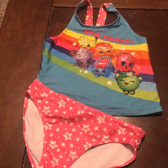 0131dcf215584 Shopkins Swim | Girls Suit Size 1012 | Poshmark